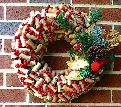 Cork Wreath Ideas