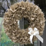 How to Make a Swatch Burlap Wreath Tutorial
