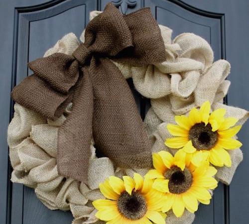 Burlap Wreath Tutorial for Beginners (Video)