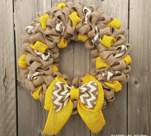 muti color ribbon burlap ribbon