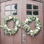 DIY Autumn Wedding Ceremony Wreaths