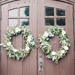 DIY Autumn Wedding Ceremony Wreaths (Video)