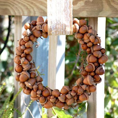 acorn-wreath ideas