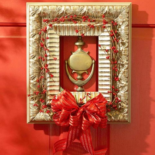 decorative_wreath_ideas_picture_frame