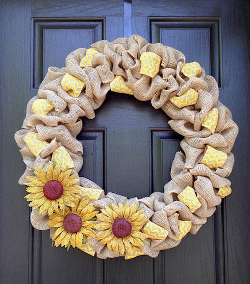 Fall Wreaths How To Make Multi Colored Burlap Wreath Video