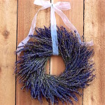 Learn How to Make a Dried Lavender Wreath