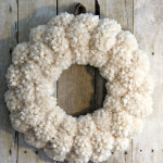 How to Make Anthropologie Inspired Pom Pom Wreaths