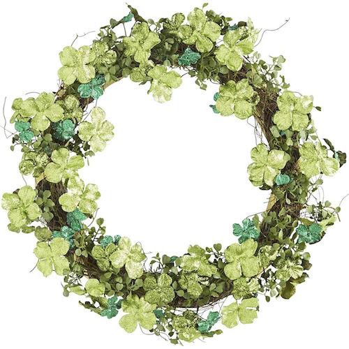 st patricks wreath idea