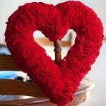 How to Make a Valentines Hearts Wreath