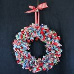 How to Make Rag Winter Wreaths