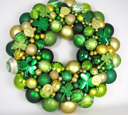 How to Make Creative St. Patricks Day Wreaths