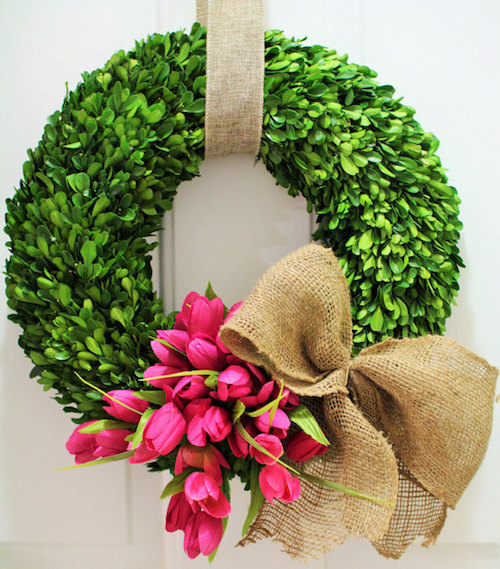 boxwood wreath tutorial