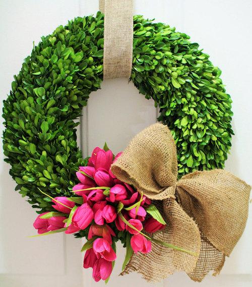 boxwood wreath tutorial