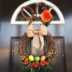 How to Make an Easter Bunny Grapevine Wreath