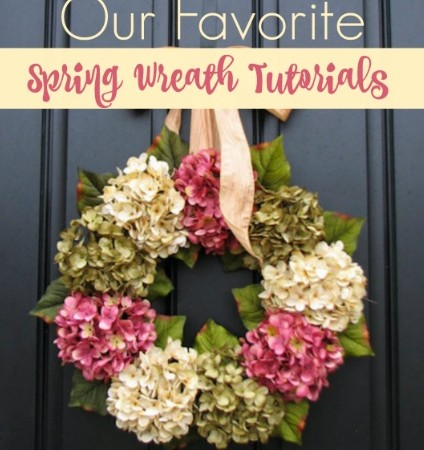 Our Favorite spring wreaths