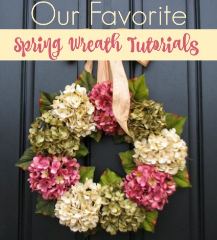 Our Favorite Spring Wreath Ideas