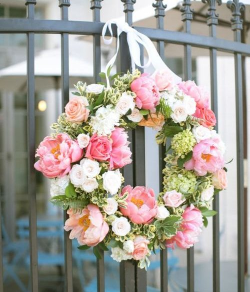Wedding decorations how to make a floral wreath junglespirit Image collections