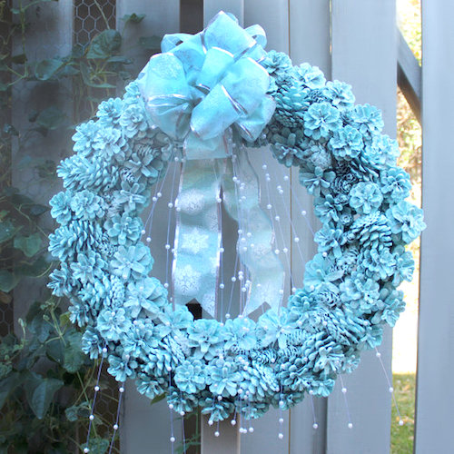 pinecone wreath ideas