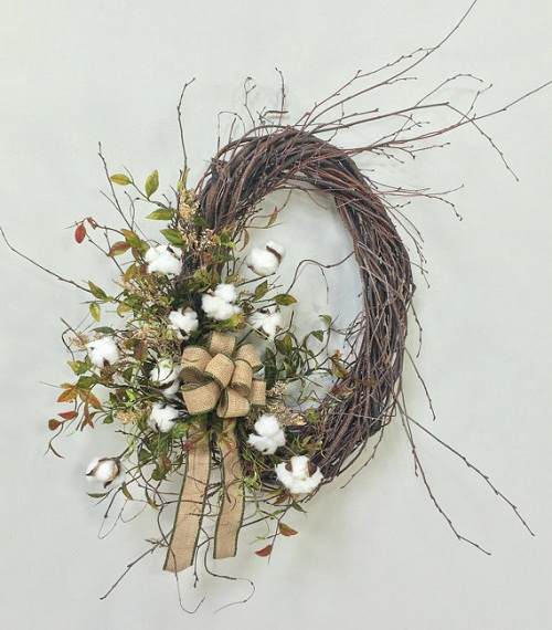 how-to-make-a-wreath-cotton-boll