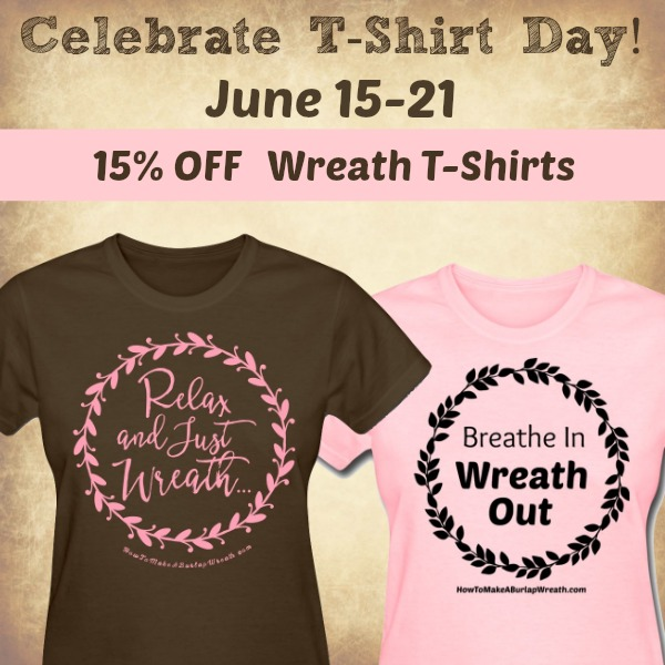 We're Celebrating T-Shirt Day with 15% OFF