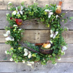 Summer Wreath: How to Make a Romantic Butterfly Wreath