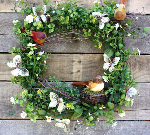 butterfly wreath ideas