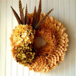 How To Make Paper Crafts Wreaths from Coffee Filters
