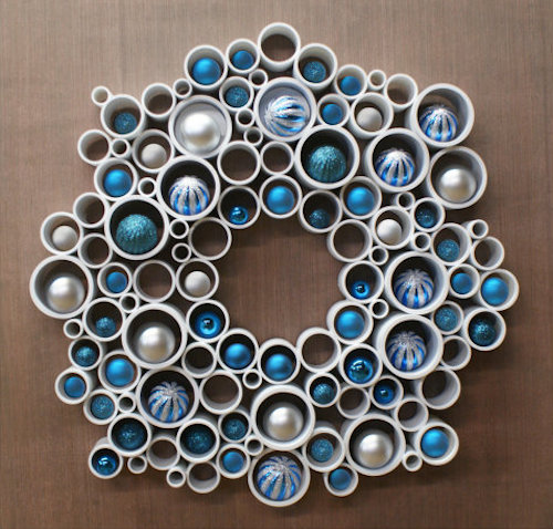 pvc pipe wreath tutorial
