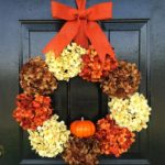 How to Make Fall Wreaths with Pumpkin Decorations
