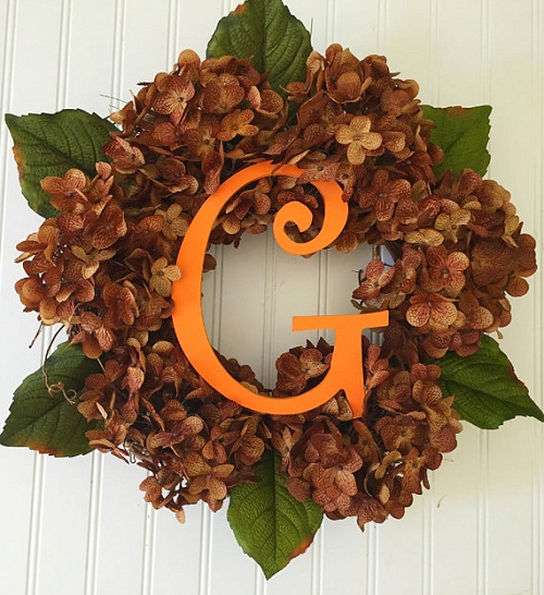 fall-flowers-wreath-hydrangeas