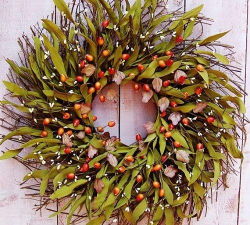 Fall Wreaths Decorating Ideas