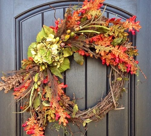 fall wreath ideas creative fall decorating ideas for a grapevine wreath 31640