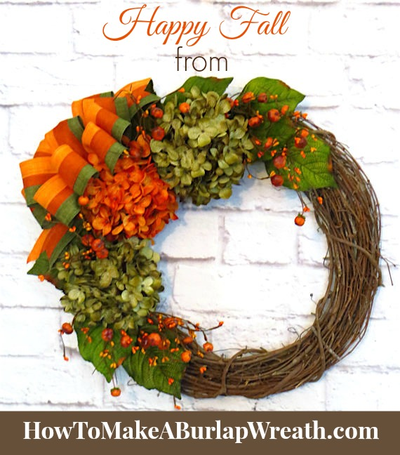 happy fall rustic decor fall wreath