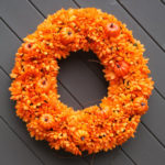 How to Make Stylish Wreath Halloween Decorations