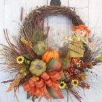 How to Make a Thanksgiving Pumpkin Decor Wreath