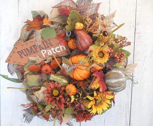thanksgiving wreath ideas