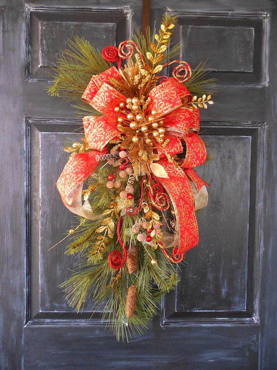 christmas-swag-wreath-ideas