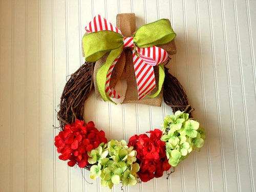 grapevine holiday wreaths