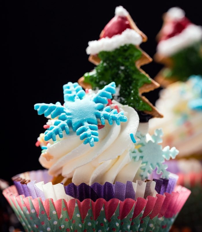 Christmas sweets cupcakes
