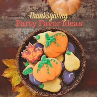 Creative Party Favors for your Thanksgiving Entertaining
