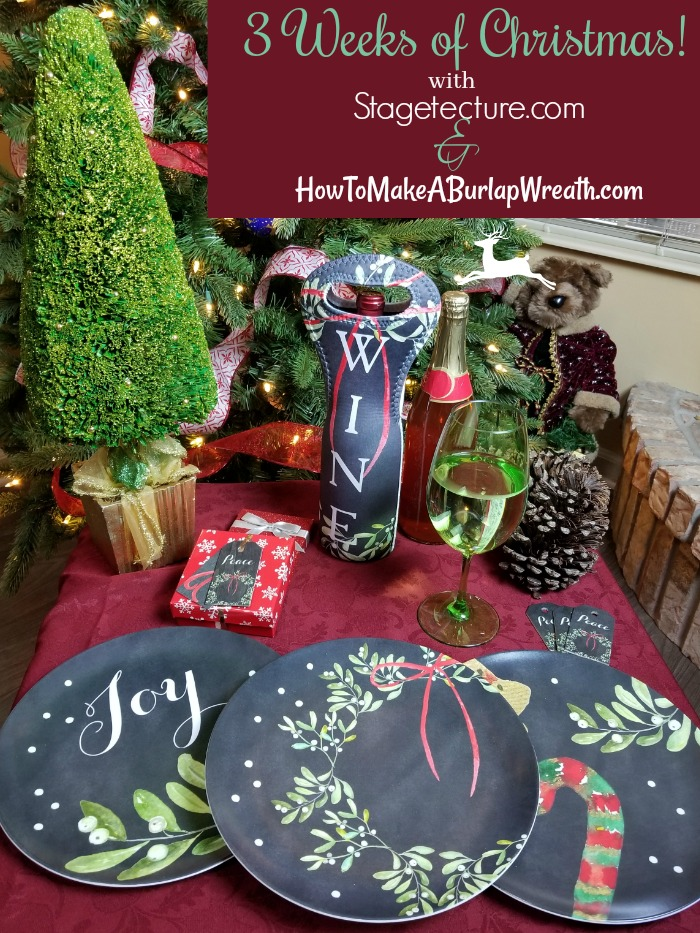holiday entertaining plates giveaway
