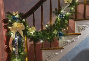 Festive Stair Decor