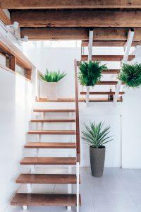 Green Stair Decor