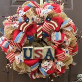 How to Make a Wreath for Memorial Day